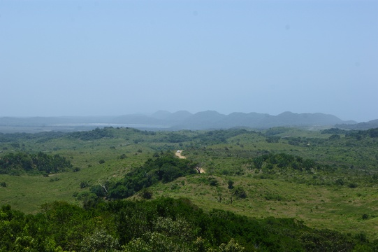 View from Kwasheleni Tower - iSimangaliso wetlands park Kzn, South Africa